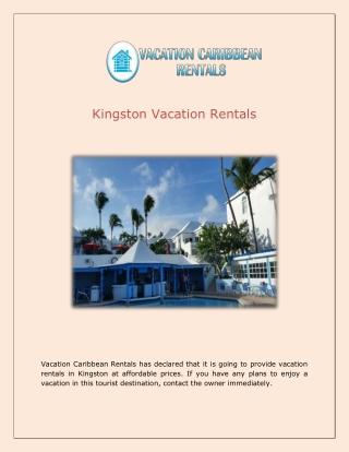 Kingston Vacation Rentals Vacation