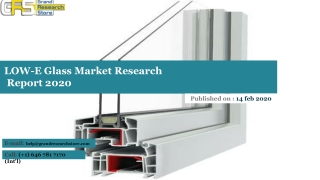 LOW-E Glass Market Research Report 2020