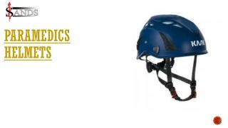 Paramedics helmets