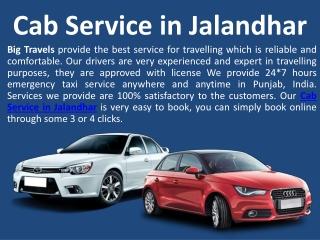One way Cab Service Jalandhar to Delhi Airport