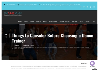 Things to Consider Before Choosing a Dance Trainer