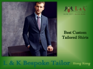 Best Custom Tailored Shirts Online | Hong Kong Shirt Makers