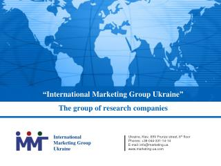 """ International Marketing Group Ukraine """
