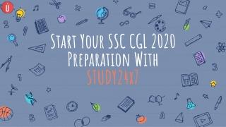 Start Preparing For SSC CGL 2020, UPSC 2020 Exam or All Govt. Exam