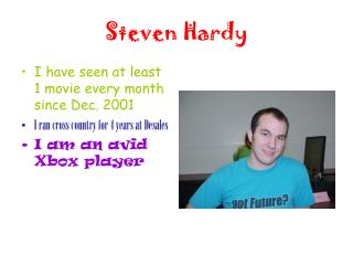 Steven Hardy
