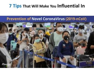 Prevention of novel corona virus