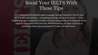 IELTS    IELTS Preparation course