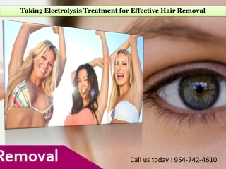 Taking Electrolysis Treatment for Effective Hair Removal