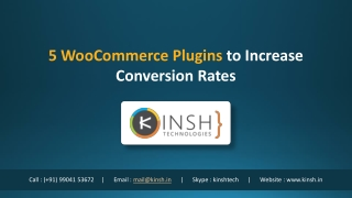 5 WooCommerce Plugins to Increase Conversion Rates