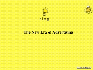 The New Era of Advertising