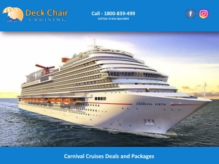 Carnival Cruises Deals and Packages