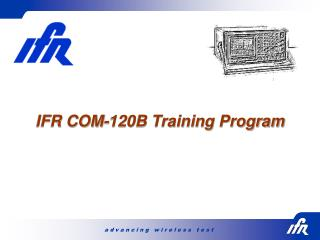 IFR COM-120B Training Program