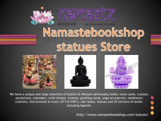 Namastebookshop statues Store