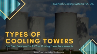Types of Cooling Tower