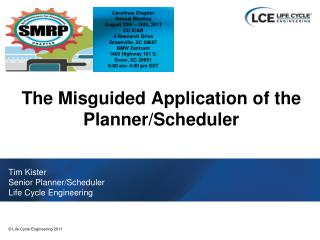 The Misguided Application of the Planner/Scheduler