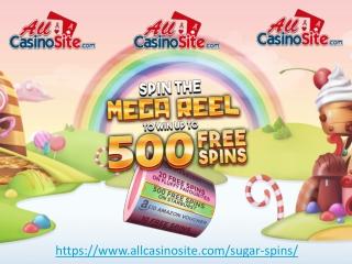 Sugar Spins - Best New Online Slots Casino Site in UK