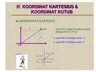 ※ KOORDINAT KARTESIUS & KOORDINAT KUTUB