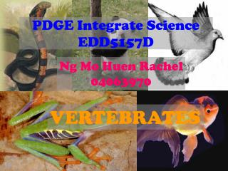 PDGE Integrate Science EDD5157D