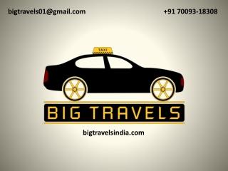 Cab Service in Jalandhar  91 70093-18308