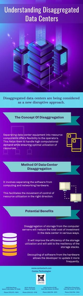 Understanding Disaggregated Data Centers