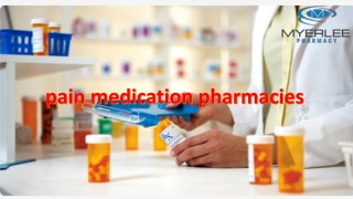 What Is The Medical Term For Pain Medication In Fort Myers?