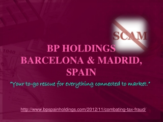 VEROPETOSTEN TORJUNTA, bp madrid holdings anti-fraud news ar