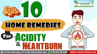 10 Best Home Remedies for Acidity and Heartburn