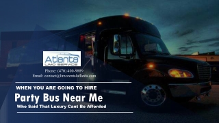 When You Are Going to Hire Limo Service Near Me. Who Said That Luxury Cant Be Afforded