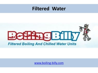 Filtered Water - www.boiling-billy.com