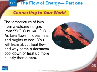 The Flow of Energy— Part one