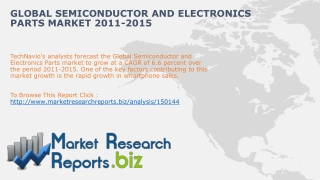 Global Semiconductor and Electronics Parts Market 2011-2015