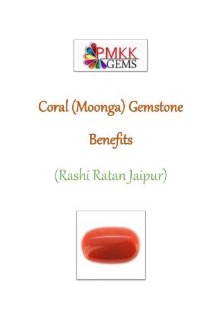 Buy Coral Gemstone Online || Rashi Ratan Jaipur