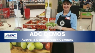 In-store demonstration companies