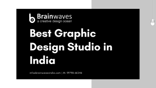 Best Graphic Design Studio in India