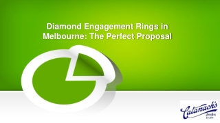 Diamond Engagement Rings in Melbourne: The Perfect Proposal