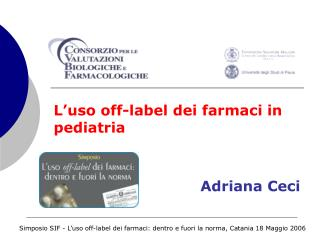 L'uso off-label dei farmaci in pediatria