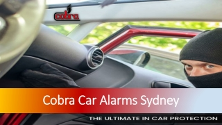 Get the Best Car Protection with Cobra Australasia
