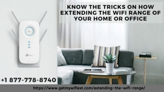 How Extending the WiFi Range –Call Now to Know How to Extend WiFi Range