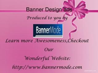 Banner Design ads