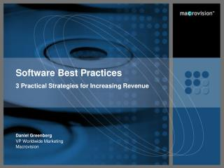 Software Best Practices 3 Practical Strategies for Increasing Revenue