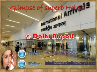 Identify some of the best hotels to stay near Delhi Airpo