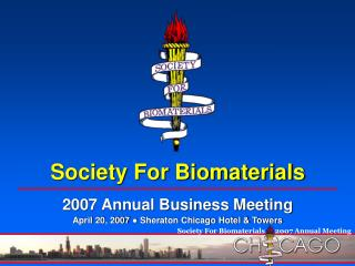 Society For Biomaterials