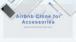 Online Platform for Renting Accessories using Airbnb Clone Script