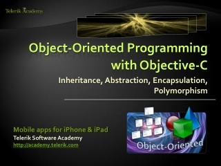C: Object Oriented Programming