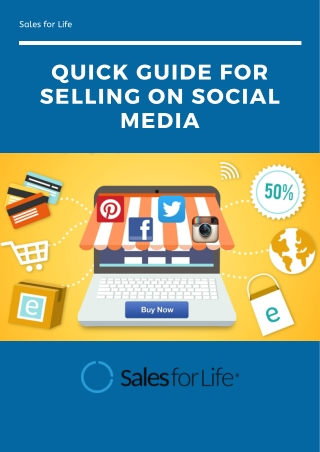 Quick Guide for Selling on Social Media