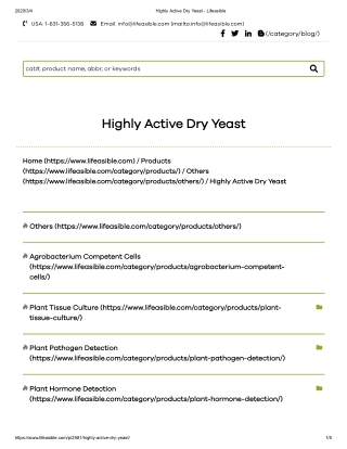 highly active yeast