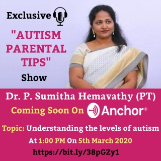 Podcast Live on Anchor - Understanding the levels of autism   Centres for Autism Near Me in Bangalore