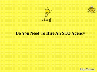 Do you need to hire an SEO agency?