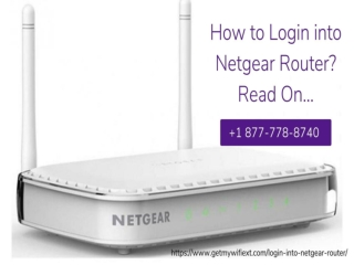 How to Login Into Netgear Router –Call for Instant Help