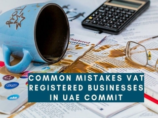 Common Mistakes VAT Registered Businesses In UAE Commit